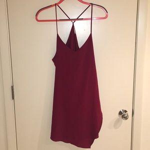 Free people maroon dress
